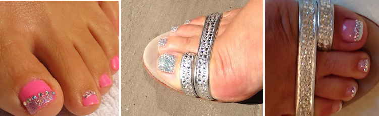 Crystal Toes for home page